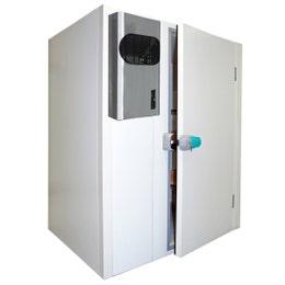 Chambre froide optibloc - négative - 1600 x 1600 x 2000 mm