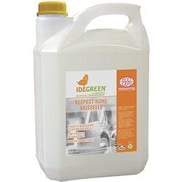 Liquide lavage plonge manuelle IdeGreen - pomme verte - 5 L