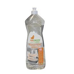 Liquide lavage plonge manuelle IdeGreen - pomme verte - 1 L