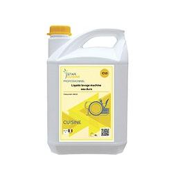Liquide lavage machine eau dure - Bidon de 5 L