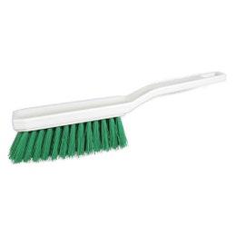 Balayette droite fleuré - 29 cm - verte