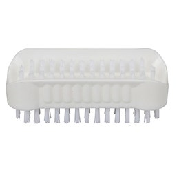 Brosse à ongle double - blanche