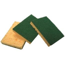 Éponge tampon vert - PM - 110 x 70 x 22 mm