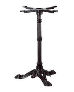 Pied de table Rétro noir - 3 branches - ht 720 mm