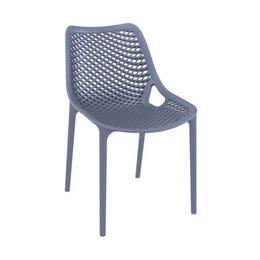 Chaise AIR - gris anthracite - 50 x 60 x 82 cm