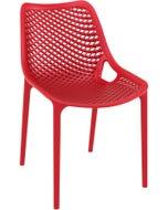 Chaise AIR - rouge - 50 x 60 x 82 cm