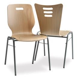 Chaise Missouri en hêtre - 50 x 51 x 88 cm