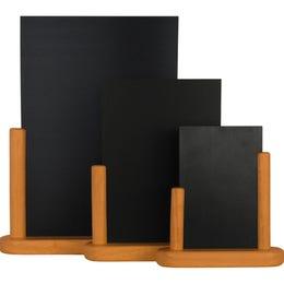 Ardoise de table Medium - 15 x 21 cm - teck