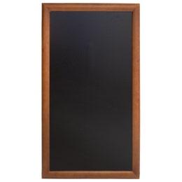 Ardoise longue - teck - 100 x 56 cm