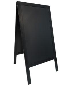 Panneau trottoir - 70 x 125 cm - premier prix - noir