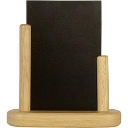 Ardoise de table Medium - 15 x 21 cm - hêtre