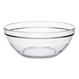 Coupelle ronde empilable en verre transparent - 105x43 mm