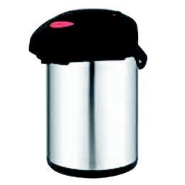 Pichet isotherme a pompe en inox de 2,5 L