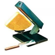 """Appareil à raclette traditionnel """"Party"""" - 1/4 de meule de fromage"""