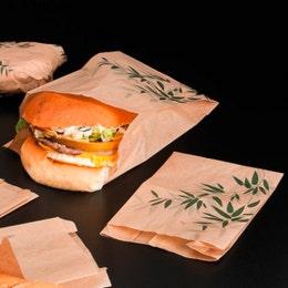 Sac d'emballage marron Feel Green® 14 x7x22 cm