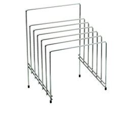 Range planches - Inox - 46x25 cm