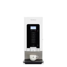 Distributeur semi-automatique blanc - boissons chaudes