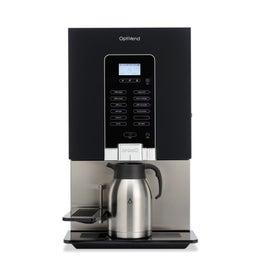 Distributeur noir - 1 bac /1 mélangeur - pour tasses/thermos
