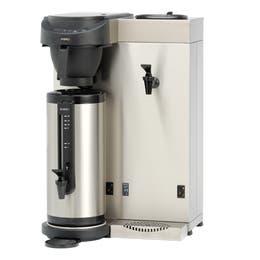 Machine à café + eau chaude mt200w - noir