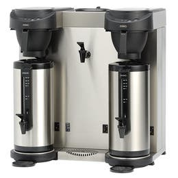 Machine à café + eau chaude mt202w - noir