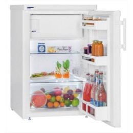 Réfrigérateur table top - 141L - acier - 554 x 623 x 850 mm