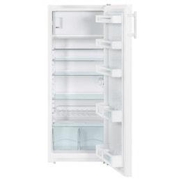Réfrigérateur table top (263L) - acier - 550 x 628 x 1402 mm