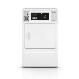 Sèche-linge blanc (10kg) monnayeur a jetons Gettonne - 400V(Tri+N)