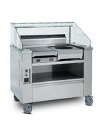 Show-cooking Visio 2 postes - inox - 1115 x 1264 x 761 mm