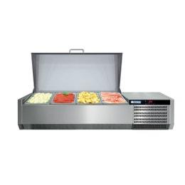 Console réfrigérée GN1/3 - avec couvercle inox - 395