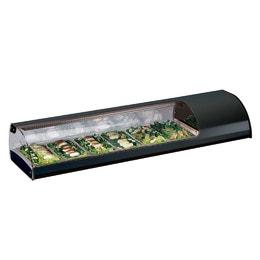 Vitrine a sushis réfrigérée 6x GN1/3 - 1437 x 380 x 255 mm
