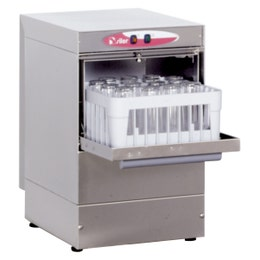 Lave-verres LS1 - 2 paniers 350 x 350 mm - ht de passage 200 mm