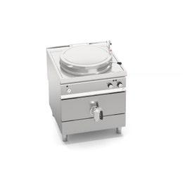 Marmite électrique 150 litres indirecte - 18 kw - 152 kg - 380 v