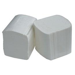 Papier toilette - 250 formats - 2 plis enchevêtrés