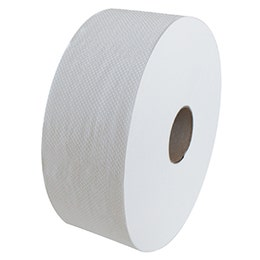 Papier toilette gaufré - Maxi Jumbo - 2 plis collés