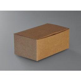 Boîte repas à emporter - 22,8 x 12,4 x 7,8 cm - carton