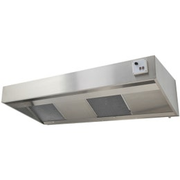 Hotte Ecoline -  ventilateur RE 7/9 4PM - 430 x 2500 x 900 mm