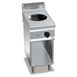 Wok induction sur meuble  - 700 x 400 x 900mm - 3,5 kw