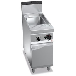 Cuiseur à pâte gaz - 40 litres - 900 x 400 x 900 - 12 kw