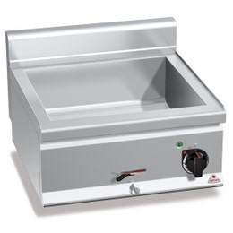 Bain marie en acier inox AISI 304 - 600 x 600 x 290 mm