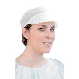 Casquette simple blanche Taille standard