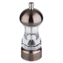 Moulin à poivre - cuivré - Hauteur 15 cm