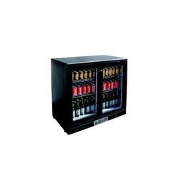 Arrière de bar froid - +2/+10°C - 254L - 2 portes - 920x535x930 mm
