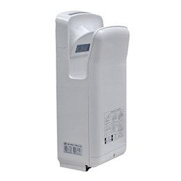 Sèche mains - 270 x 220 x 680 mm - Blanc