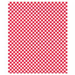 Papier alimentaire - Carreaux rouge/blanc