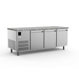 Table réfrigérée pâtissière - Froid stat. +2 à +8°C - 27 plaques