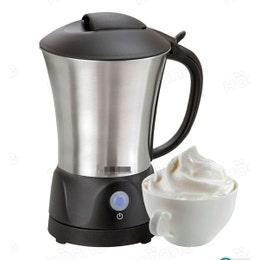 Mousseur à lait - inox brossé - capacite mini: 0,2 L / max: 0,8 L