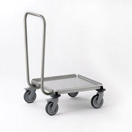 Portes-casiers GA tout inox 600 x 515 x 800