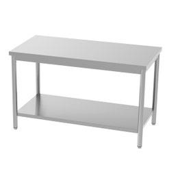Table centrale - avec étagère - 1400x700x850/900 mm