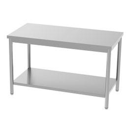 Table centrale - avec étagère - 1600x700x850/900 mm