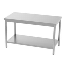 Table centrale - avec étagère - 1800x700x850/900 mm